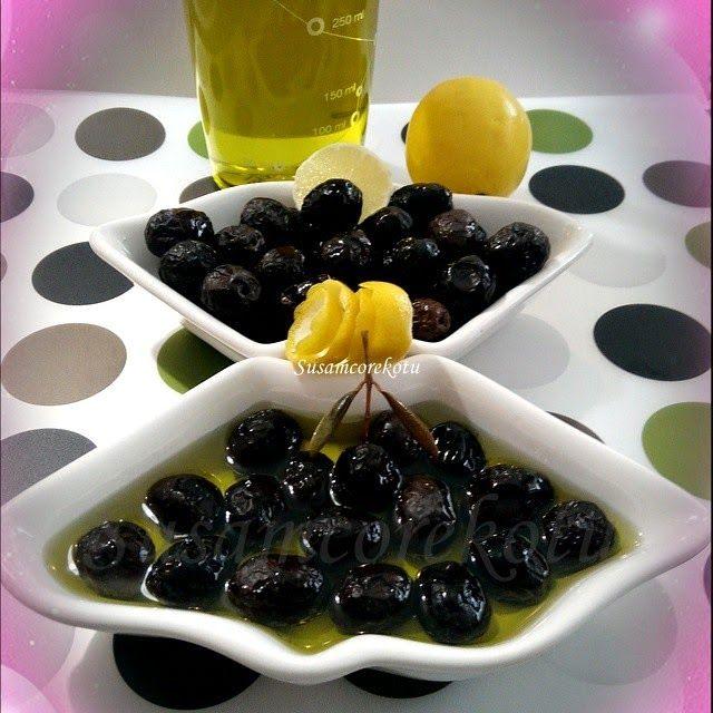 SİYAH ZEYTİN-SELE ZEYTİN YAPIMI AŞAMALARI(en kolay siyah sele zeytin nasıl yapılır) - Susam Çörek Otu Denenmiş Tarifler