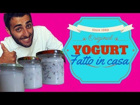 yogurt fatto in casa senza yogurtiera (facile e veloce) homemade yogurt - YouTube
