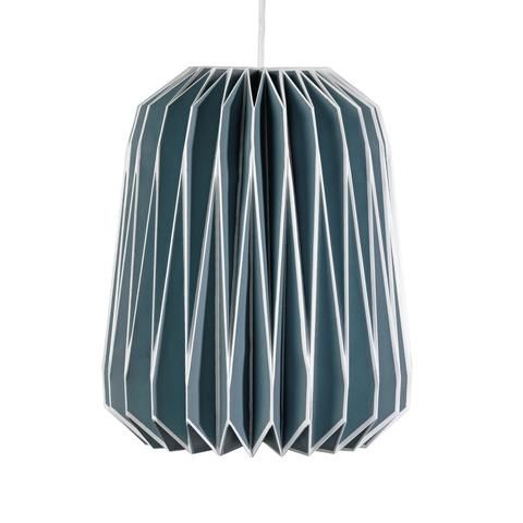 Nuvola French Blue Paper Lampshade | Wild & Wolf -  Bloomsbury Store - 1