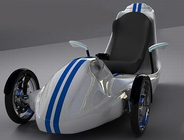 Concept trikes that run clean on electric engines - Promoting Eco Friendly Lifestyle to Save Enviornment - Ecofriend