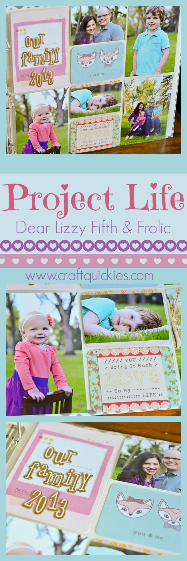 Quick easy scrapbook ideas - Project Life Sb Scrapbookspecial Scrapbookingscrapbooking Idea