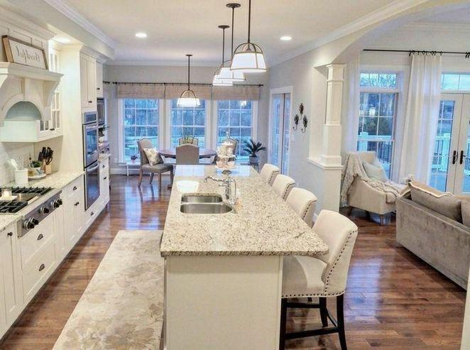 34 Key Pieces Of House Layout Ideas Floor Plans Open Concept Dream Homes 1 Inspirabytes Com Kitchen Designs Layout Kitchen Floor Plans Kitchen Layout