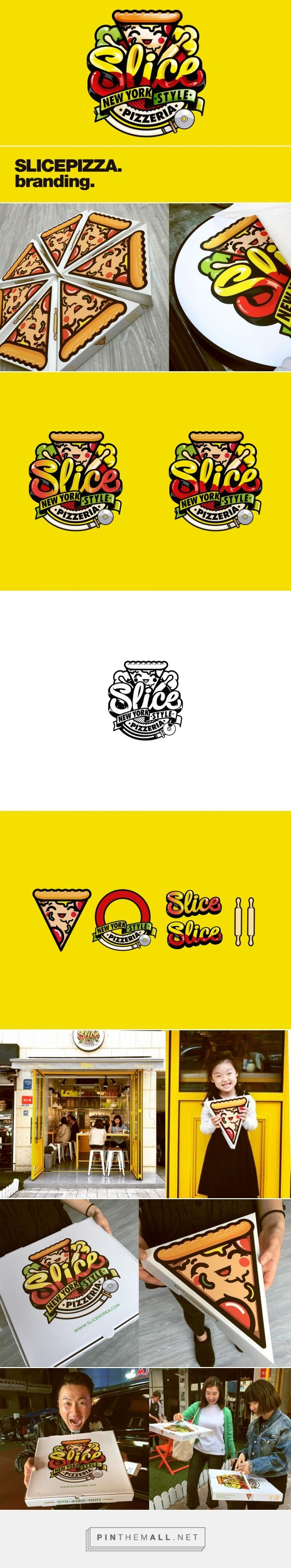 Slice Pizzeria — The Dieline - Branding & Packaging - created via https://pinthemall.net