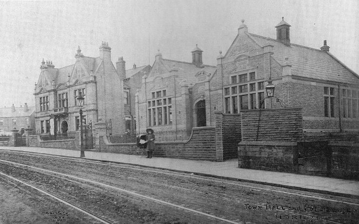 Photo Project - T.E.G Horbury 1900 to 2013 Public library and town hall