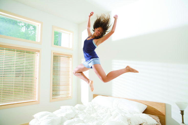 Dr. Dean Salo's blog post will give you the tools you need to become a morning person. One tip: start moving your bedtime up by 15 minutes so you can wake up earlier while still feeling rested.