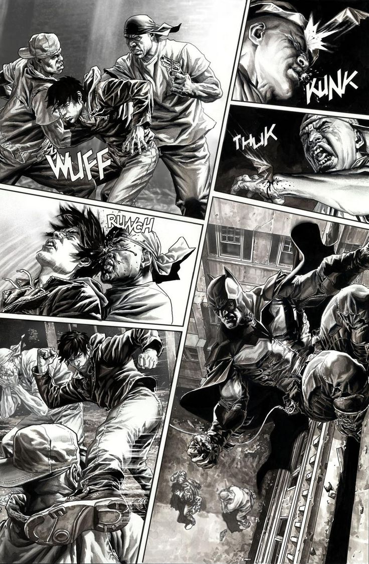 BATMAN Black & White. Rule Number 1 page 6