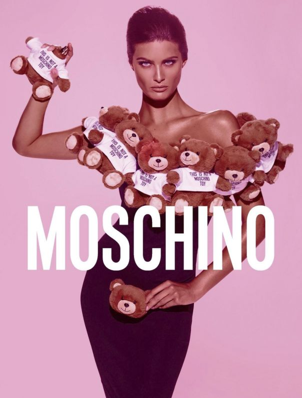 Isabeli Fontana for Moschino Toy Fragrance 2014 by Steven Meisel