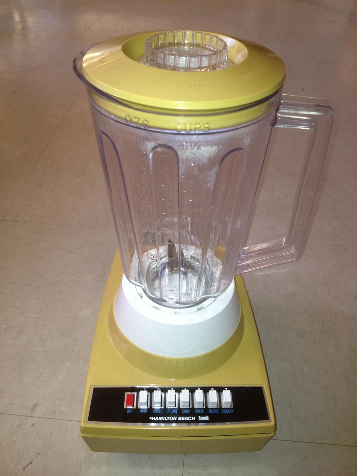Posted on the hamilton beach facebook wall vintage retro for Kitchen perfected blender