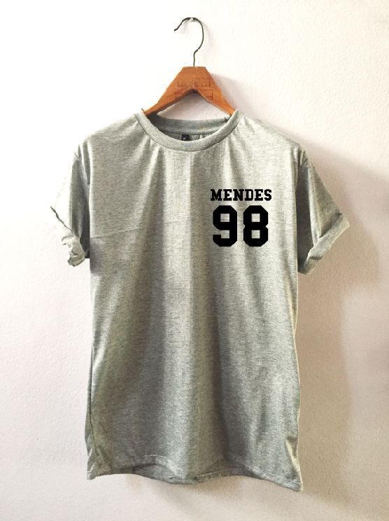 Shawn Mendes 98 Small Printed T Shirt Clothing 100 Cotton Unisex | eBay