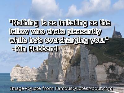 Irritating Quotes