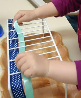 To the Lesson!: weaving exercise