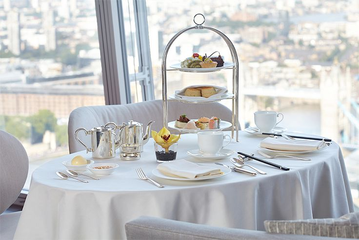 The Shard Sky High Tea