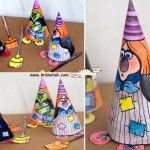 Printable WITCH DOLL