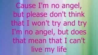 Dido - I'm no Angel with lyrics, via YouTube.