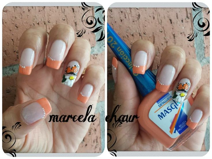 Diseño de Marcela Chaur #masglo #nails #inspiration....   *UÑAS ...