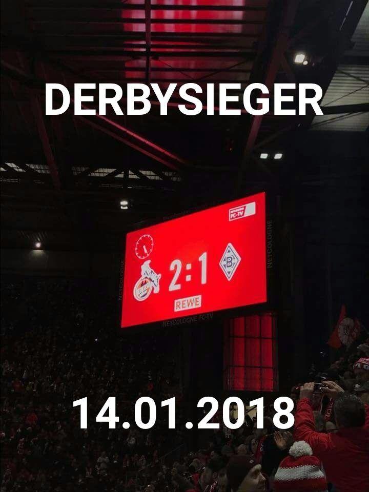 DERBYSIEGER 1.FC Köln