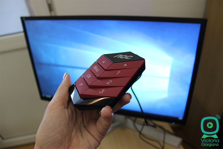 "AOC AGON VG241QX – Monitor de gaming de 24"" cu rezolutie QHD și 144Hz Refresh Rate"
