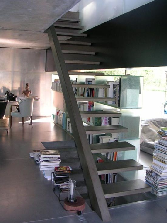 House in Bordeaux - Rem Koolhaas - Stairs