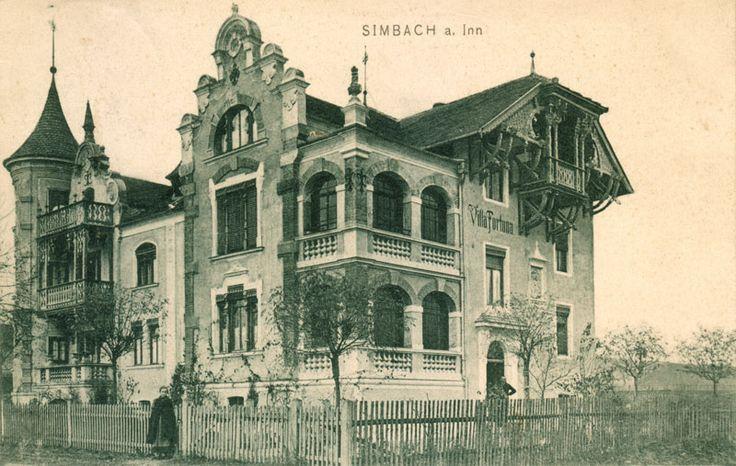 Villa Fortuna in der Münchner Straße, Simbach an Inn.
