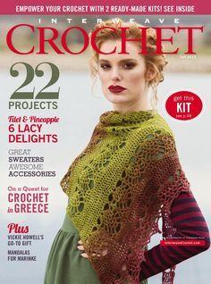 Interweave Crochet Fall 2015 - 轻描淡写 - 轻描淡写, mandala Wink, Crochet Magazine, Haken, Tijdschrift
