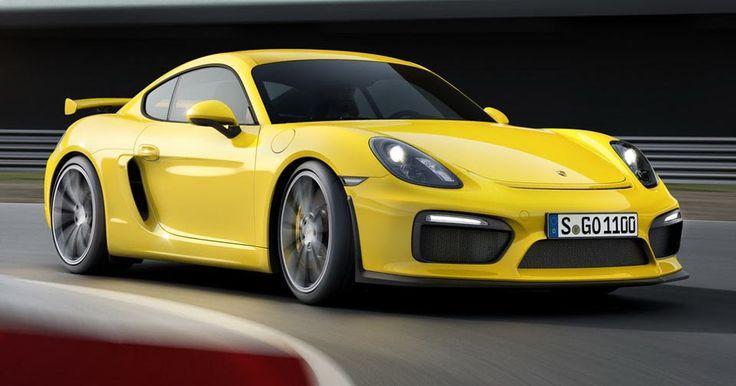 Porsche Dealership Hints At Cayman GT4 RS With 4.0L Engine #Porsche #Porsche_Cayman