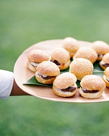 Slider hors d'oeuvres