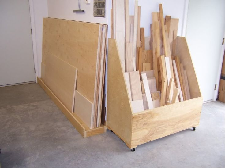 9 best images about sheet goods storage on pinterest for Sheet goods cart