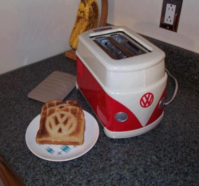 VW Logo Toast Anyone?
