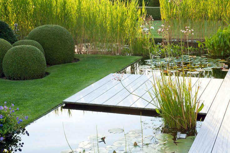 Nice Formaler Garten mit Wasserbecken Garten Wasser Pinterest G rten Wasser und Teiche