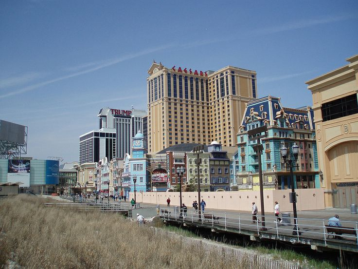 Atlantic City Boardwalk  2008