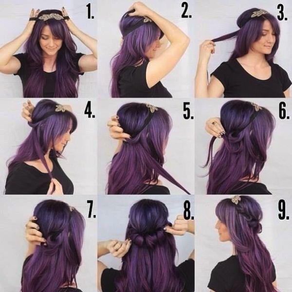 Best 25+ Hairband hairstyle ideas on Pinterest | Bandana headband ...