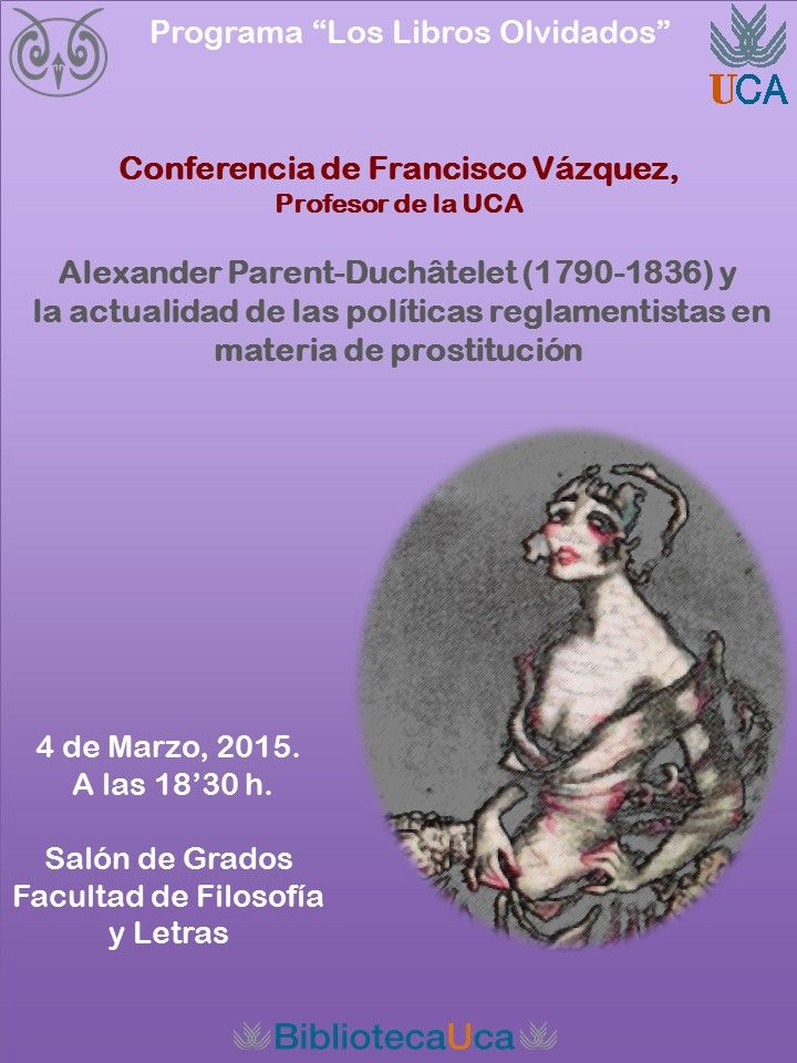 Cartel Conferencia Francisco Vázquez