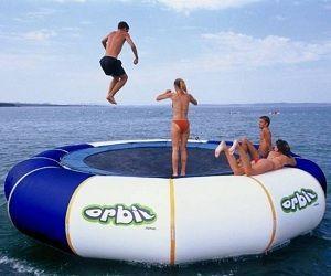Floating Trampoline.