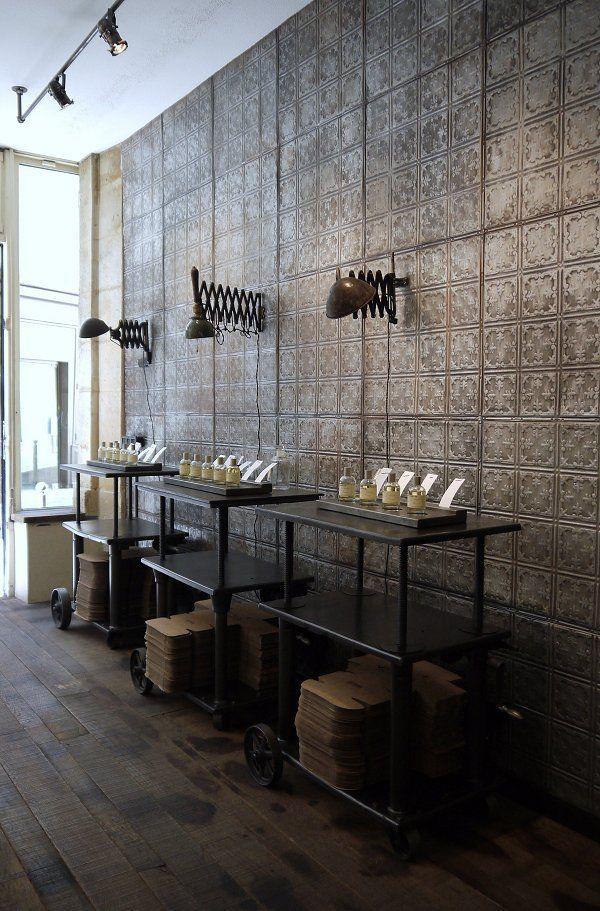 Voorbeelden American tin ceiling retail toepassingen