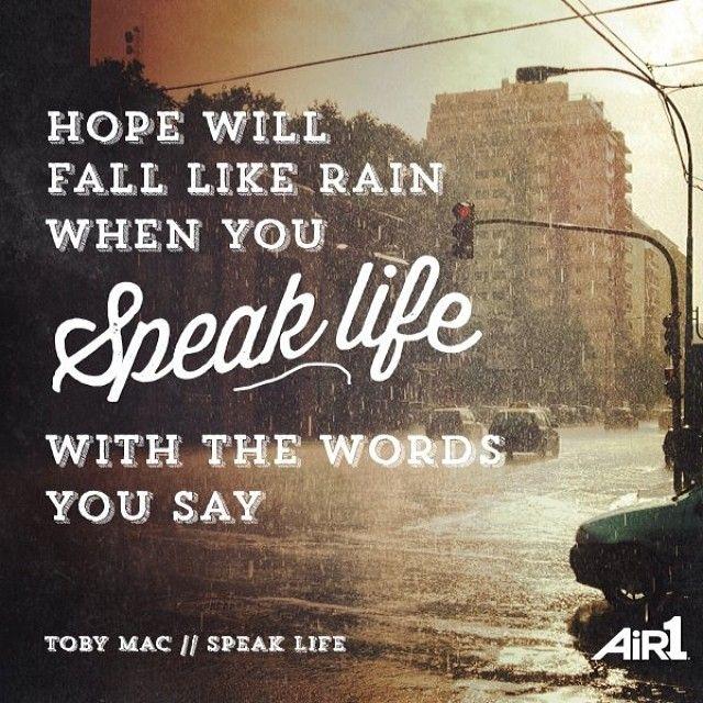 air1radio's photo: TobyMac // #SpeakLife