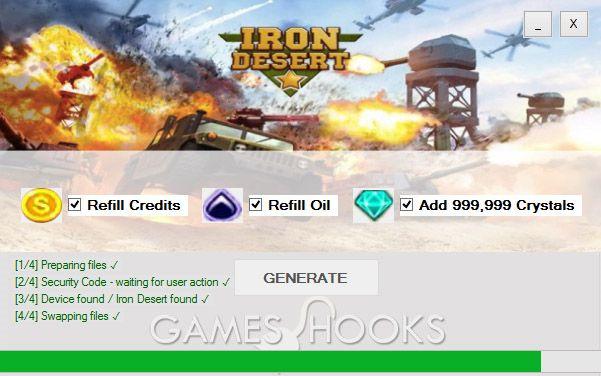 Iron Desert Hack Mediafire   Games Hooks