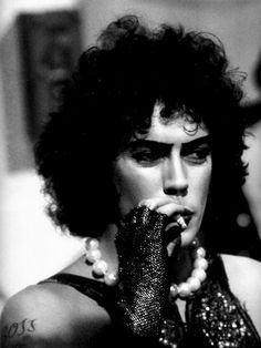Frank N' Furter in The Rocky Horror Picture Show