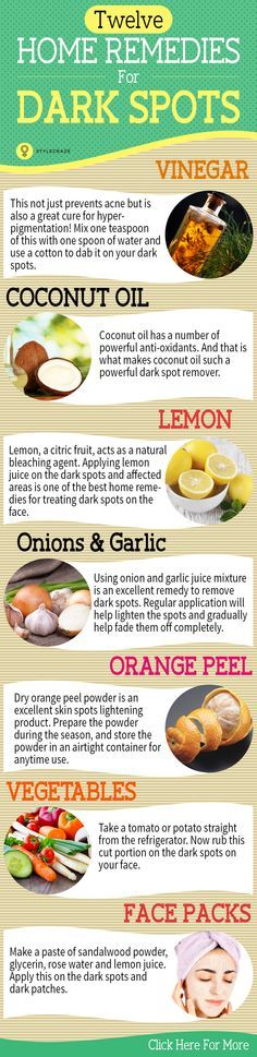 Dark spots on face are very embarrassing. They can be eliminated when proper treatment is given. Here are 7 home remedies you can try to ...