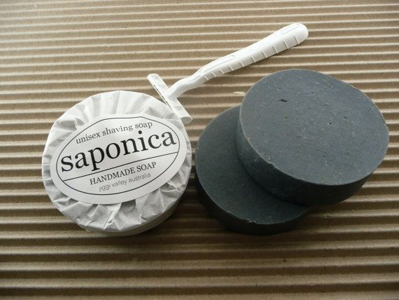 Handmade Natural Unisex Shaving Soap by Saponica by saponica, $5.50
