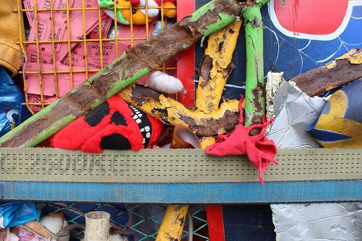Public Art: Crushed Amusement Park, 'Once' by Artist James Dive.