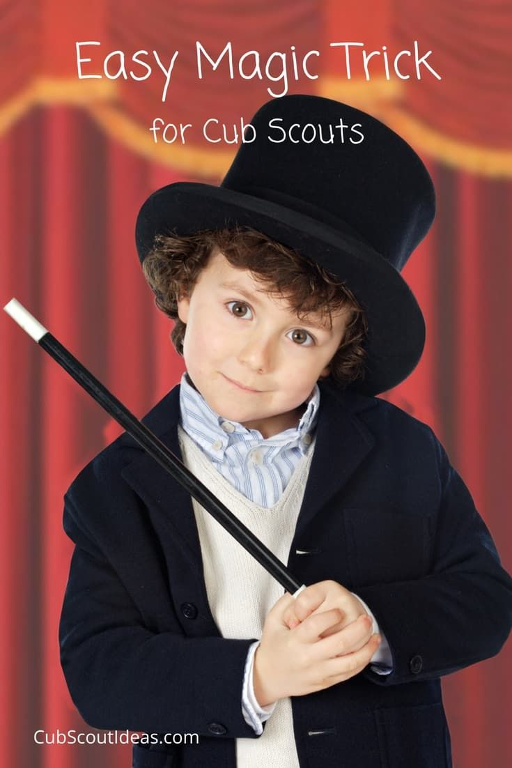 This super simple magic trick is perfect for Tiger Cub Scouts to use for the Curiosity, Intrigue, and Magical Mysteries elective adventure! The only thing you need is a piece of rope.