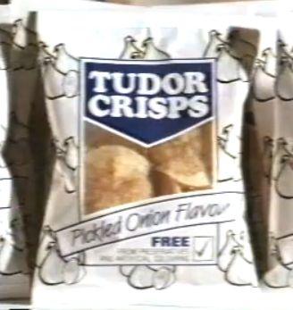 Tudor Pickled Onion Crisps Agony to eat!