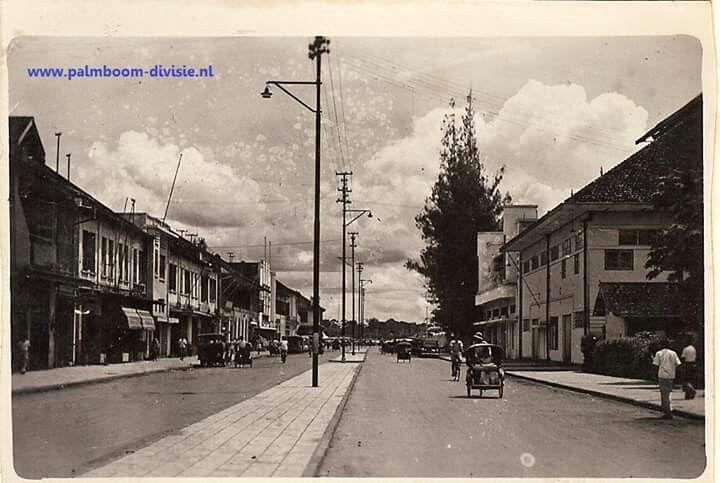 Passarstraat, Palembang (1947-1950)