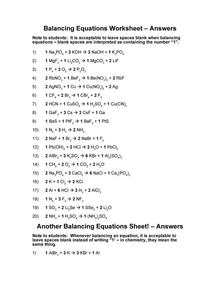 classifying chemical reactions worksheet lab