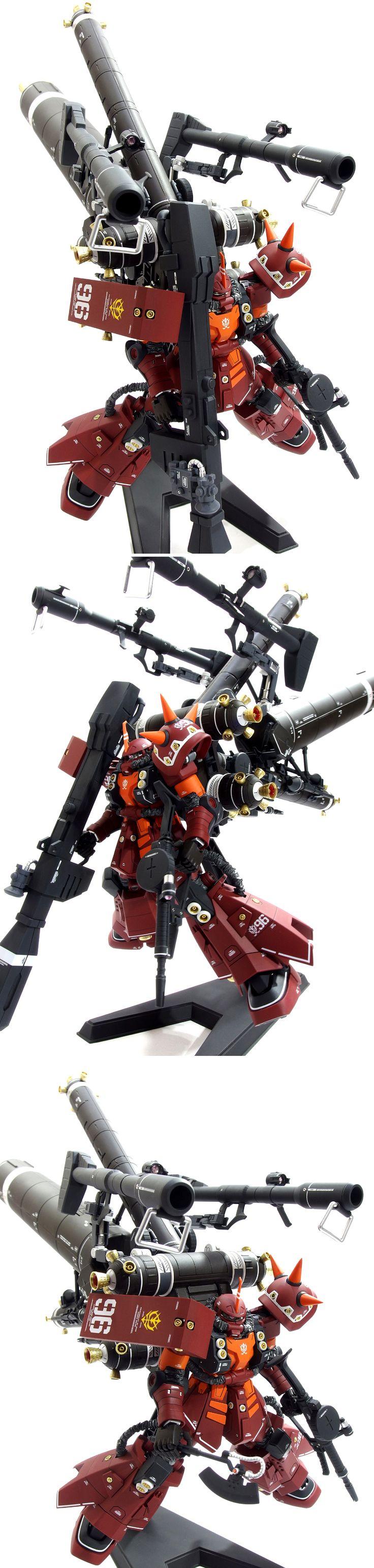 1/100 MG 高機動型ザク サイコ・ザクVer.Ka 塗装済完成品 - ヤフオク!