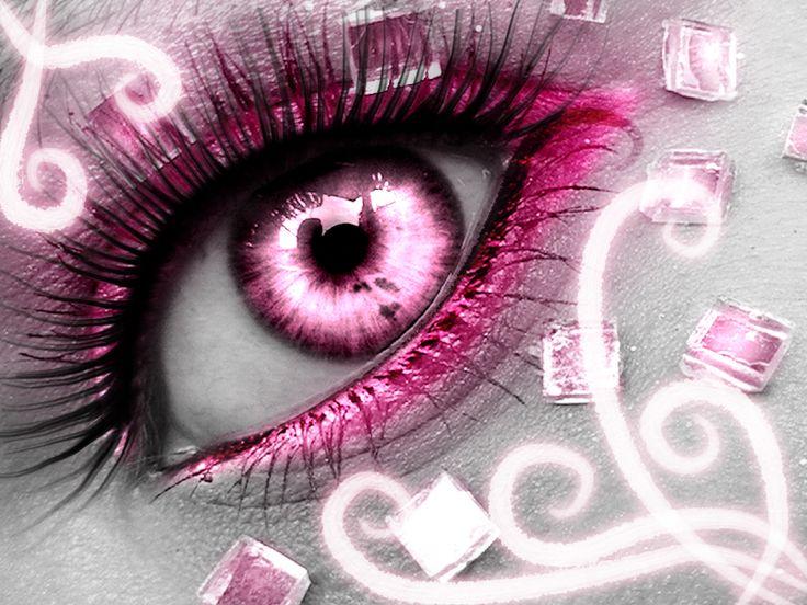pink eye...? ...  ; )