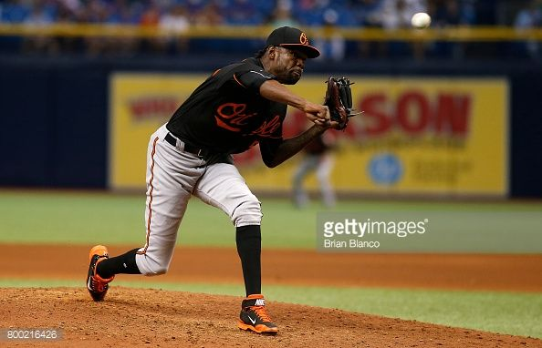 News Photo : Miguel Castro of the Baltimore Orioles pitches...