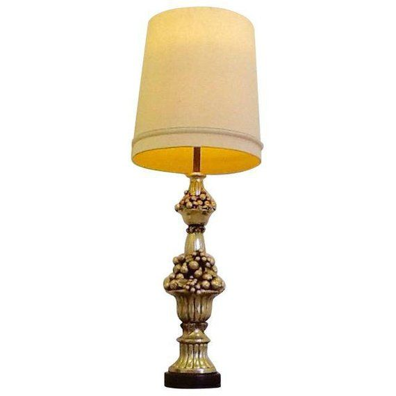 Hollywood Regency 4 9 1940s Table Lamp Vintage Etsy Table Lamp Lamp Retro Table Lamps