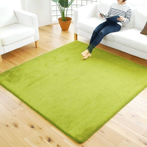 Wish | 9 colors 5 dimensions bedroom finished carpet living room rectangle…