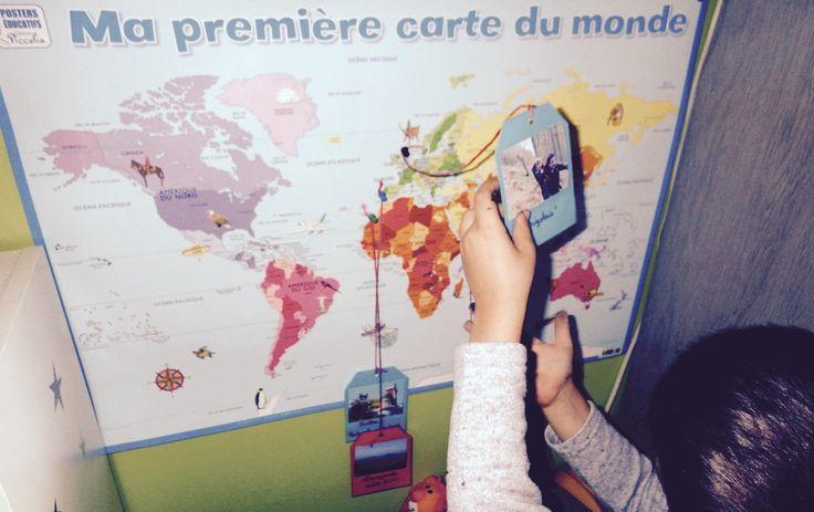 Photos de voyage : comment dynamiser une carte du monde (DIY)